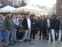 Uczestnicy na ulicach Krakowa 5 z 5