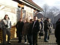 Uczestnicy na ulicach Krakowa 4 z 5