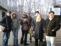 Uczestnicy na ulicach Krakowa 3 z 5